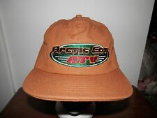 trucker hat baseball cap ARCTIC CAT ATV new FLAT BRIM BILL rare retro snapback