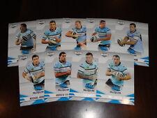 2013 NRL ELITE TEAM SET OF 9 CARDS CRONULLA SHARKS