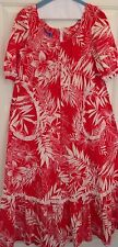 Hawaii MUU MUU Apparel Womens Hawaiian VTG 60's Muu-Muu Dress Size S Hostess
