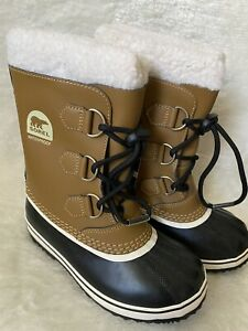 Sorel Yoot Pac TP Waterproof Snow Boots in Mesquite - Youth Size 52