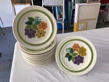 Franciscan Floral Pattern Salad Plate