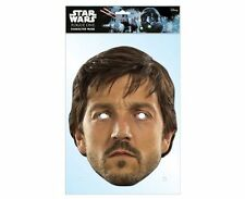 Cassian Andor Star Wars Rogue One Single 2D Card Party Face Mask Diego Luna