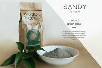 Pure Organic French Green Clay Fine Powder 2.2 LBS – 1 Kg THE CHEAPEST ON EBAY
