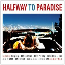 Halfway To Paradise 2-CD NEW SEALED Billy Fury/Chuck Berry/Dion/Del Shannon+