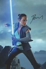 12x8 (A4) Photo Personally Autographed by Daisy Ridley & COA