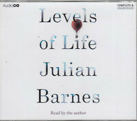 Levels of Life Julian Barnes 3CD Audio Book NEW Unabridged FASTPOST