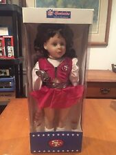 San Francisco 49ers Cheerleader Doll from America's Sweetheart NFL Niners New in
