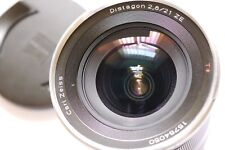 CARL ZEISS 21mm F/2.8 DISAGON ZE ,CANON EOS FIT