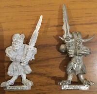 Games Workshop Warhammer Chaos Bloodletters of Khorne set of 2 metal miniatures