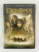 The Lord of the Rings The Fellowship of the Ring DVD 2002 2 Disc Set