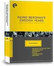 Ingrid Bergmans Swedish Years - Eclipse Series 46 (DVD, Criterion Collection)