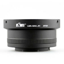 Adapter Mount Ring M42 Lens to Camera Photo Nikon 1 J1 V1
