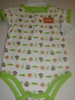 First Moments Infant Baby Boy/'s Creeper Bodysuit Daddy/'s Silly Monkey 9M $12 NWT