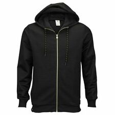 Adidas Lionel Messi Hooded Jacket Hoodie Black Gold Zip Slim All NEW Men's S