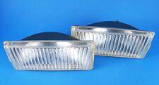 SET OF 2 LEFT&RIGHT BMW E30 E28 FOGLAMP LIGHT GENUINE ZKW LENS 63 17 1 375 067-8