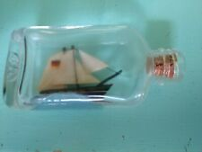 Vintage Miniature Ship In A Bottle