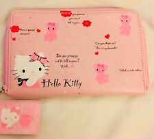 Hello Kitty Tiny Chums Teddy Bear Clutch Wallet Organizer Wallet