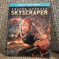 Skyscraper Blu-ray Dwayne Johnson NEW