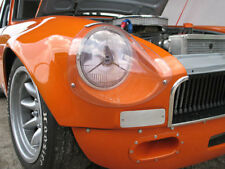 Paire de protection de phares en plexi MGB/MGC Sebring