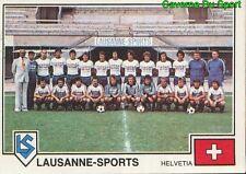 310 TEAM LAUSANNE SPORTS SUISSE VIGNETTE STICKER EURO FOOTBALL 79 PANINI