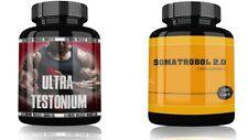 Muskelaufbau Paket Testo Booster Testosteron und Trainingsbooster Pre Workout