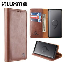 Samsung Galaxy Note 9 Case Pouch Removable Leather Wallet Magnet Card FlipCover