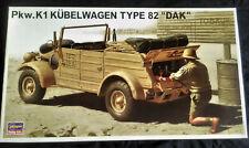 "1/24 Hasegawa Kubelwagen Pkw.K1 Type 82 ""DAK"" model kit"