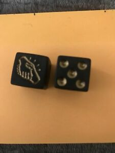 2013 Monopoly Empire Gold Edition McD Token Dice Replacement Part Game Piece