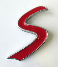 MINI Front Grill Cooper S Badge Letter Emblem for R50 R52 R53 R55 R56 R57 R58