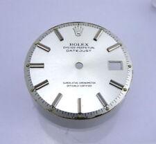 Rare Rolex Datejust Gray Silver Non Quick Watch Dial Part 1600 1601 1603 1570