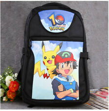 Pokemon Go Pikachu Ash Ketchum Backpack BookBag Fashion laptop shoulder bag