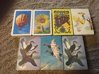 7 Vintage Decks Sealed Playing Cards Arrco, Metro & Stardust