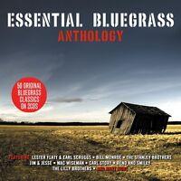 Essential Bluegrass Anthology - 50 Original Bluegrass Classics 2CD NEW/SEALED
