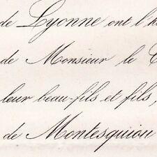 Albert De Crisenoy De Lyonne 1862 Montesquiou-Fezensac