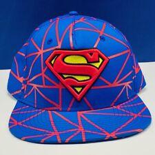 Superman hat DC comics cap snapback justice league Kal El Clark Kent superhero
