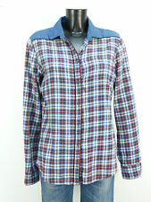 Maison Scotch Camicia Taglia 40/MULTICOLORE A Quadri & come nuovo (K 9214)