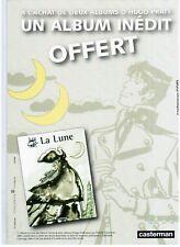 PRESENTOIR PUBLICITAIRE - HUGO PRATT - LA LUNE / CORTO MALTESE / CASTERMAN  NEUF