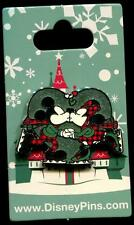 Mickey and Minnie Ice Skating Kiss Holiday Christmas 2016 Disney Pin 118886