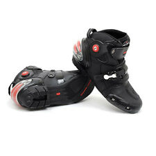 NEW Motorcycle Street Bike Speed Biker Racing Boots US 8 9 9.5 10.5 11 12 13