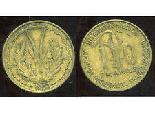 AFRIQUE OCCIDENTALE FRANCAISE 10 francs   1957   ( bis )
