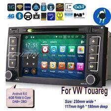 "For VW Touareg T5 Autoradio Android 8.0 Wifi DAB+Car CD OBD DVR TNT TPMS 7""7856F"