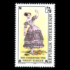 Austria 1984 - 100th Anniversary of the Death of Fanny Elssler - Sc 1297 MNH
