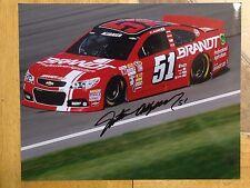 Justin Allgaier Signed 8x10 Photo NASCAR COA
