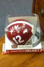 Amari Cooper~Autographed Alabama Crimson Tide Riddell mini Helmet~COA Authentic