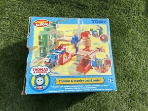 Tomy Thomas and cranky coal loader boxed and working with instructions