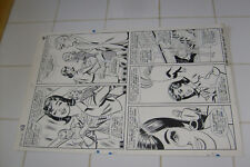 PATSY & HEDY #110, ORIGINAL ART, PAGE 4, AL HARTLEY?, MARVEL LARGE ART, p walker Comic Art