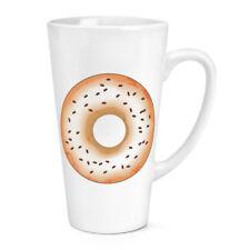 Il caffè smaltato CIAMBELLA DONUT 17oz Grande Latte Macchiato tazza-Divertente Cibo Torta