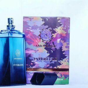 AMOURAGE Oud 100ml Agarwood Patchouli & Sandalwood Perfume Spray EDP INTERLUDE
