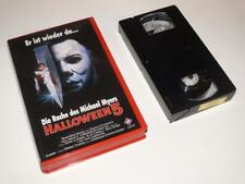 VHS Video ~ Halloween 5 ~ Large Case Ex-Rental ~ *German Release*