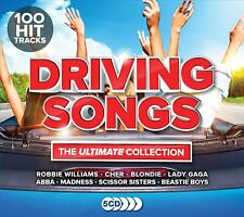 DRIVING SONGS THE ULTIMATE COLLECTION 5 CD SET (100 Hit Tracks) (Released 2018)